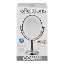 conair reflections led lighted collection polish chrome finish 1 0 ct
