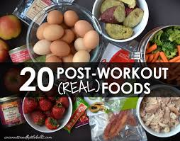 20 post workout meals for muscle gain