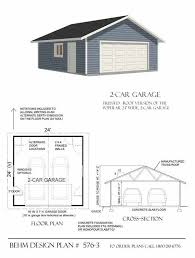 2 car garage plan 576 3 by behm design for the home