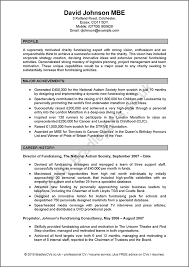 example of a written cv application manager cv sample by bradley cvs uk