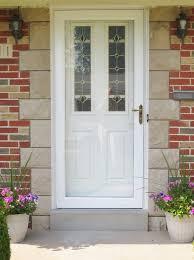 front storm doorsNew Front Entry Door With New Storm Door  Traditional  Entry