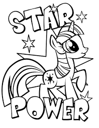 Little Pony 3 Coloring Pages For Kids