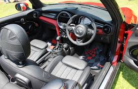 mini cooper convertible interior. step into the driveru0027s seat and you find a snug fit cushioning side bolstering u0026 lateral support is best weu0027ve seen till date mini cooper convertible interior e