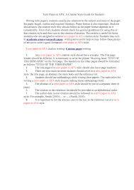 Example Paper In Apa Format Monzaberglauf Verbandcom