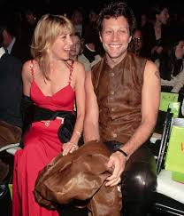 Jon bon jovi's wife, dorothea hurley attended sayreville war memorial high school, located in parlin, new jersey. Jon Bon Jovi Reveals Surprising Secrets To 40 Year Romance From Respect To Cheating Hello