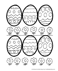 Small Picture Easter Egg Coloring Pages Decorative Easter Eggs for Coloring