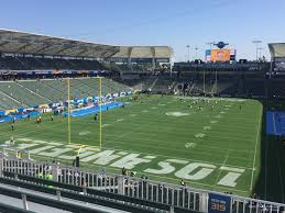 Los Angeles Chargers Seating Chart Dignity Health Sports Park Section 319 Los Angeles