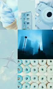 Blue Aesthetic Collage Wallpapers - Top ...