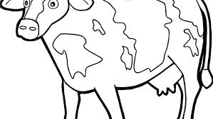 Farm Animal Coloring Pages Free Sheets For Preschool Colouring