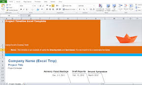 Free Project Timeline Template Free Project Management Timeline Template Excel Tmp