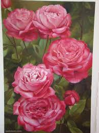 flower paintings flower paintings flower painting rose