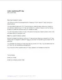 How To Write A Maternity Leave Letter For Work Simple Maternity Leave Letter Format Employee Bitwrk Co