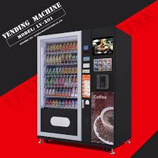 Vending Machine Snack Suppliers Cool China Supplier Snack And Beverage Vending Machine LVX48 China