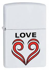 Купить <b>Зажигалка ZIPPO 214 Love</b> Theme с покрытием White ...