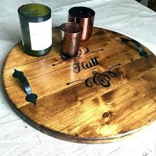 wooden trays for ottoman large wooden trays for ottomans serving tray ottoman solid wood round cool