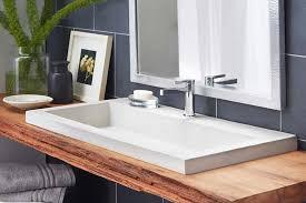 Image Cabinet Sleek And Simple Wooden Diy Floating Vanity With Gray Porcelain Backsplash For Modern Bathrom Ideas Goghdesigncom Sleek And Simple Wooden Diy Floating Vanity With Gray Porcelain