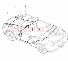 Wiring harnesses passenger partment front luggage enlarge diagram porsche boxster wiring schematics wiring full