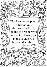 Small Picture 15 Printable Bible Verse Coloring Pages Bible Adult coloring