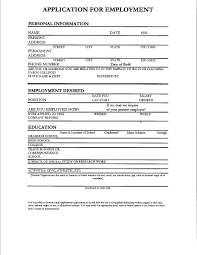 filling out resume