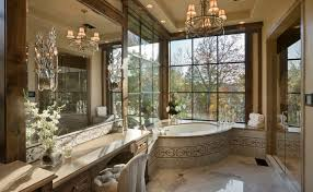elegant bathroom on residence