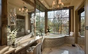 elegant bathroom on residence