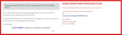 Buckeye Cable Systems How To Get Rid Of Buckeye Broadbands Obnoxious Data Cap