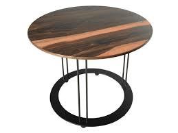 round ebony coffee table for living room aureola ebony coffee table by garbarino