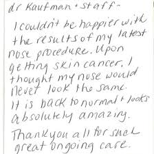 Thank You Letter To Doctor Interesting Dermatology Testimonials Thousand Oaks Skin Care Patient Referrals