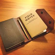 custom field notes moleskine leather cover