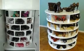 back to diy closet shoe rack