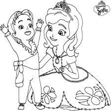 Coloriage Imprimer Princesse Sofia Ambre Coloriage Imprimer