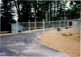 chain link fence double gate. Photo #72, 6\u0027 Chain Link Plus 1\u0027 Barb Wire And Double Swing Gate Fence L
