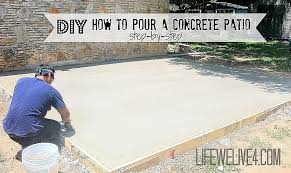 makeshift fire pit unique luxury how to build a concrete patio