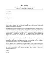 Legal Assistant Cover Letter Examples Cover Letter For A Legal