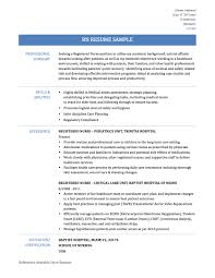 Mesmerizing Sample Practical Nursing Resumes In Licensed Nurse
