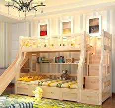 kids bunk bed with slide. Fine Kids Kids Loft Bed With Slide Twin Bunk Desk Attractive  Beds Apartments On Kids Bunk Bed With Slide M