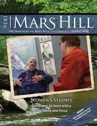 Mars Hill University Magazine, Spring 2018 by Mars Hill University - issuu