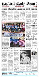 Sun 11-9-14 Pages By Roswell Daily Record - Issuu