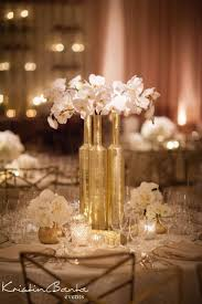 how many votives go on a wedding table - Google Search. Gold  CenterpiecesGold ...
