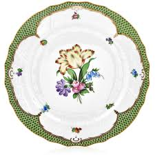 Herend Printemps Green Border Special Edition Herend