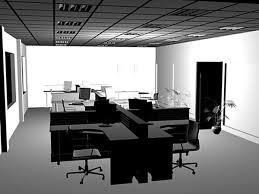 studio office furniture. Modern Office Furniture Interior Workstations Comp, (.3ds) 3D . Studio L