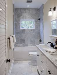 compact bathroom design ideas.  Design Narrow Bathroom Benefits From Shower Window To Break Up The Space And  Provide Fresh Air Inside Compact Bathroom Design Ideas M