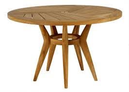 Dining Table Wood Mariposa Round Dining Table Contemporary Dining Room Tables