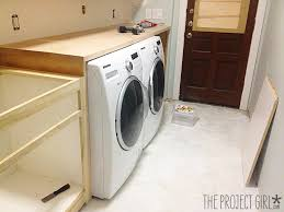 well known how to build a laundry room countertop home design ideas wh09