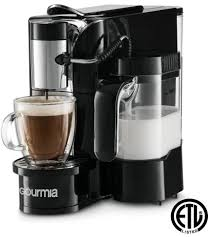 Manualslib has more than 20 gourmia coffee maker manuals. Gourmia Gcm5500 1 Touch Automatic Espresso Cappuccino Latte Maker Coffee Machine Brew Froth Milk And Mix Into Cup Black
