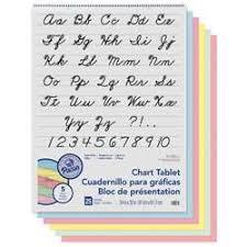 Pacon Paper Chart Tablets K 12 School Supplies Teacher