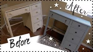 diy vintage desk makeover how to chalk paint furniture how to use chalk paint