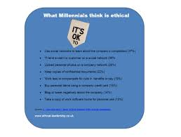 will the millennials be more ethical leaders in business its ok2