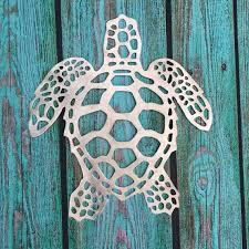 sea turtle 16 75 handmade metal wall