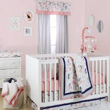 fl dot 4 piece crib bedding sets home design hot pink baby 5 49y the best